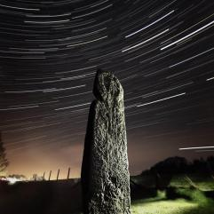 The Maidenstone Star Trails