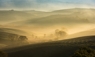 Rob Romani: Sunrise over Tuscany