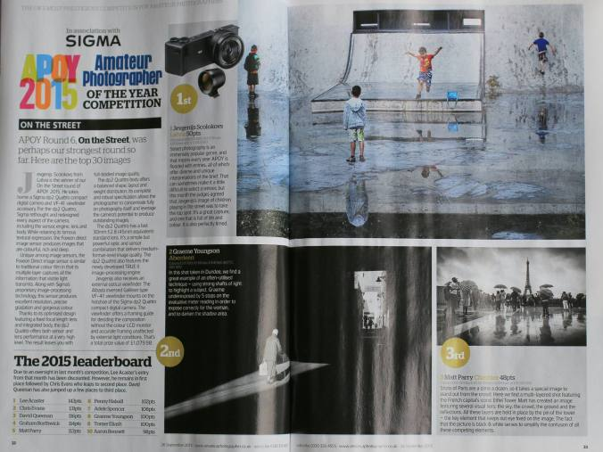 Article from Amateur Photographer Magazine
